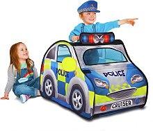 Chad Valley Police Car Pop Up Play Tent with Siren