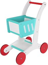 Chad Valley Wooden Shopping Trolley