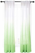 ChadMade Outdoor Indoor Gradient Ombre Sheer