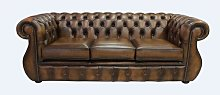 Chafin Kimberley Genuine Leather 3 Seater