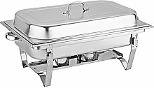 Chafing Dish Professional Set Stainless Steel Food