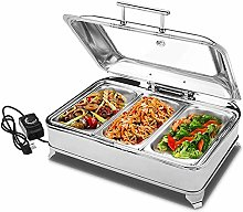 Chafing Dish Set Food Warmer Buffet, 9L Stainless