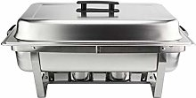 Chafing Dish Set Food Warmer Buffet, Stainless