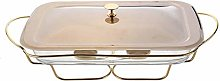 Chafing Dishes Buffet Food Warmer, with Lid