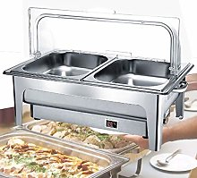 Chafing Dishes Serving Food Warmer, 9L Electric