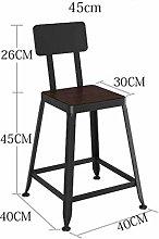 CHAIR Bar Chair,Minimalist Leisure Chair Hem Fir