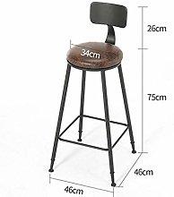 CHAIR Bar Chair,Minimalist Leisure Chair Wooden