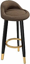 Chair Bar Stool - 2pcs Light Luxury Modern