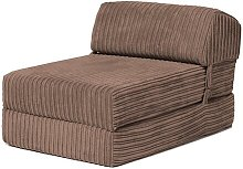 Chair Bed Symple Stuff Upholstery: Mocha