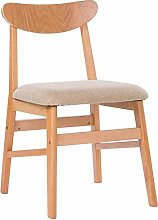 CHAIR Chair Dining Chair Solid Wood Frame Backrest