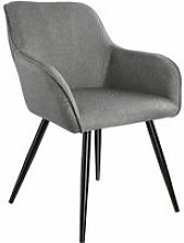 Chair Marylin | Office accent armchair - light