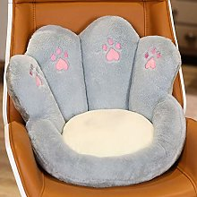 Chair Seat Cushion Crown Shaped Cat Paw