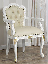 Chair with armrests Josephine Decape Baroque style