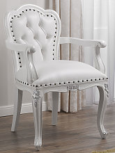 Chair with armrests Josephine Modern Baroque style