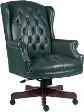 Chairman Swivel Chair Green, Green
