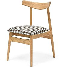 Chairs - Casual dining chair,Cloth Solid Wood