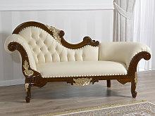 Chaise longue Joana English Baroque style sofa day