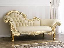 Chaise longue Joana French Baroque style sofa day