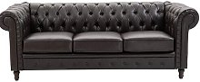 Chalet 3 Seater Chesterfield Sofa ClassicLiving