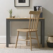 Chalford Dark Grey Large Simple Desk