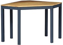 Chalford Inky Blue Corner Desk
