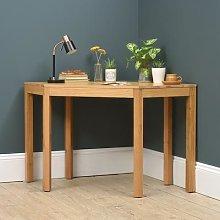 Chalford Oak Corner Desk