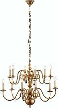 Chamberlain Pendant Light Brass Soft solid brass