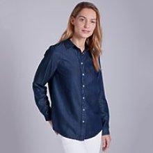 Chambray Shirt, Indigo, 8