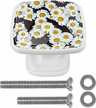 Chamomile Daisy Flower Field 3D Printed Drawer