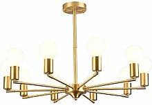 Chandelier Copper 10 Lights