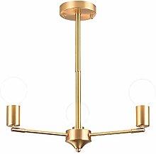 Chandelier Copper 3 Lights