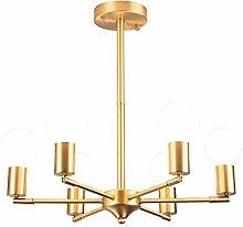 Chandelier Copper 6 Lights
