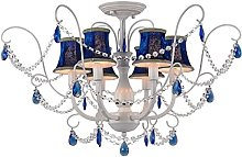 Chandelier Crystal Ceiling Lights Iron Living Room