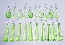 Chandelier Drops Cut Glass Crystals Droplets Beads