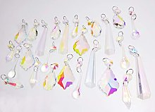 Chandelier Drops Glass Crystals Droplets Beads