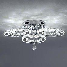 Chandelier Light ,3 Rings Crystal Lamp ,Modern Led