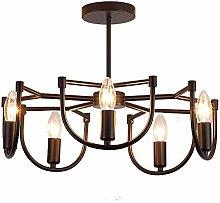 Chandelier Modern Black Living Room Pendant Light