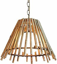 Chandelier Retro Farm Bamboo Pendant Lights