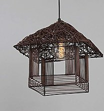 Chandelier Southeast Asia Rattan Creativity