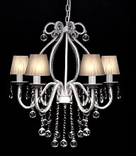 Chandelier with 2300 Crystals White VD30888