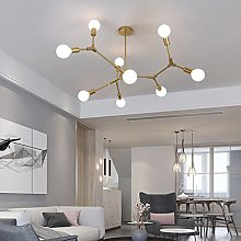 @Chandeliers Modern Pendant Lighting With 9 Lights