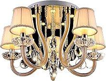 Chanety European Luxury Crystal Fabric Ceiling