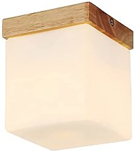 Chanety Fashion Wooden Glass Aisle Ceiling Lamps