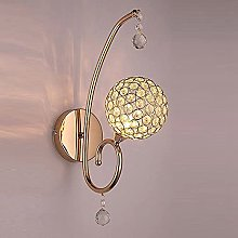 Chanety Modern Crystal Bedroom Wall Light Corridor