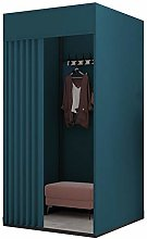 Changing Room Fitting Room with Metal Frame Shelf,