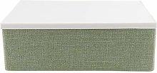 Changor Khaki/green Storage Bin, Polymerus,