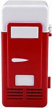 Changor Red Mini USB Fridge, with Abs 19.4 x 9 x 9