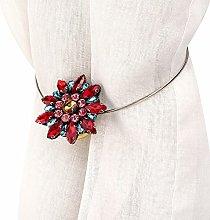 Changor Sturdy Curtain Tiebacks, Ball Lace Curtain