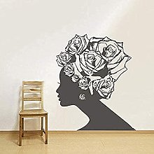 CHANGWW Wall Decals Woman Vinyl Interior Room
