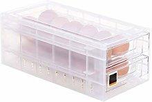 Chanhan Drawer Egg Storage Box,Fridge Egg Tray Egg